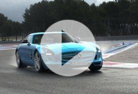Mercedes SLS electric drive – Chris on cars