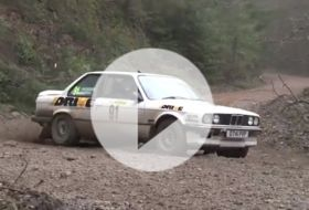 BMW 325i rally – Chris on cars