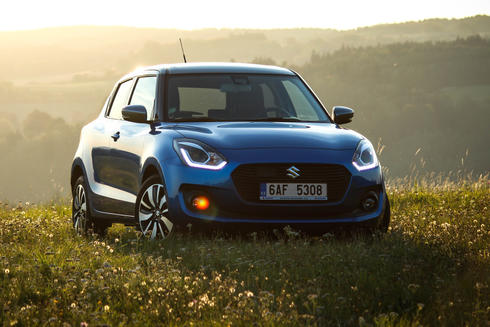 Suzuki Swift 1,0 BoosterJet SHVS – dokonalá evoluce