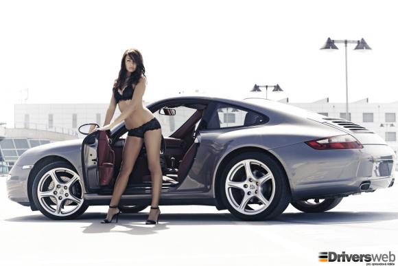 Katka a Porsche 911 #Automoto